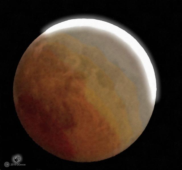 total eclipse 21 Dec 2010
