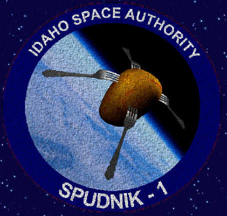 Spudnik -1 Cloth Mission Patch