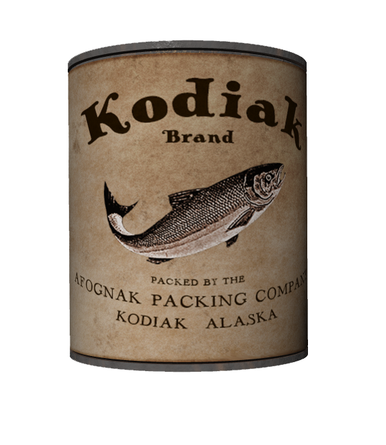 kodiak salmon can back view