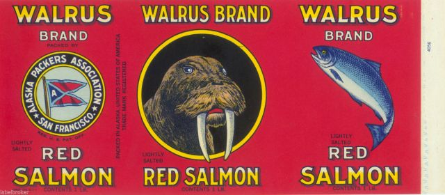 walrus brand canned salmon