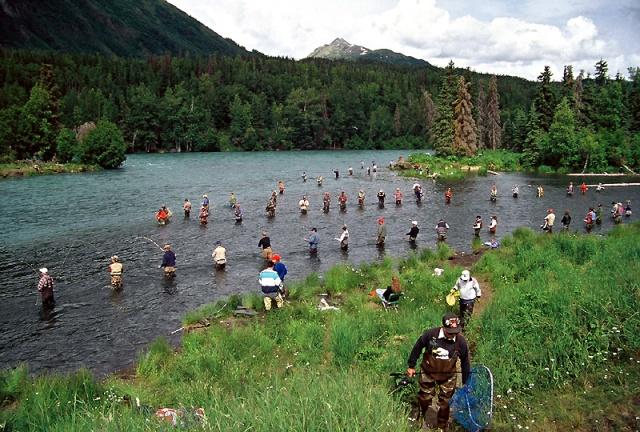 combat fishing in alaska