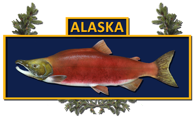 an alaska combat fisherman badge based on the us army combat infantryman badge