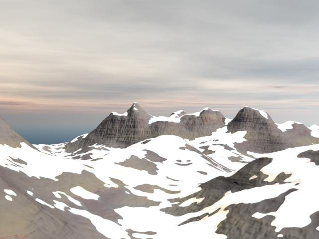 daz bryce 3d mountain terrain