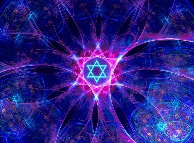 fractal magen david/star of david