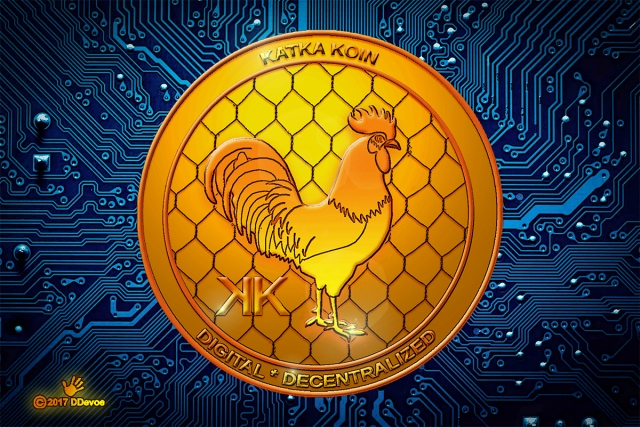 katkakoin digital currency issued by chickens unlimited