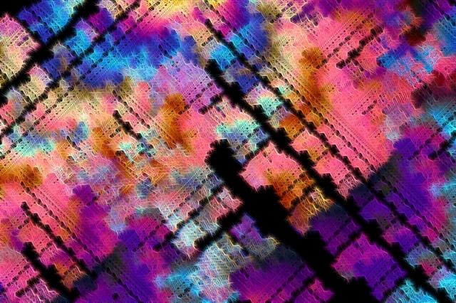 multicolor apophysis fractal